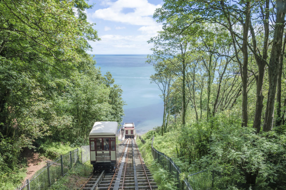 Cliff Railway at Babbacombe
