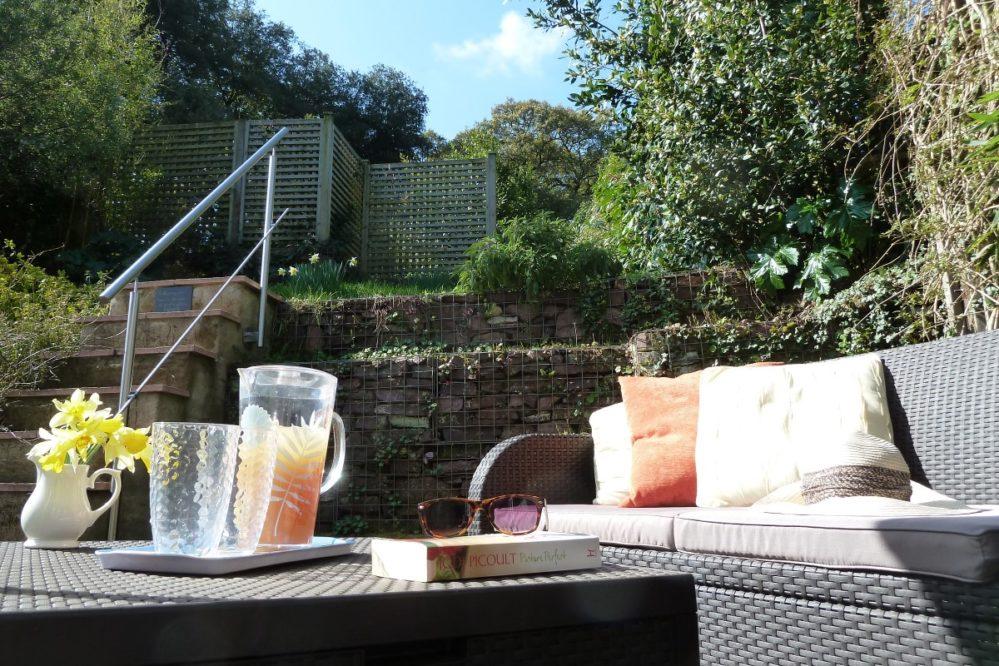 Mallock Cottage garden @ Cockington Cottages