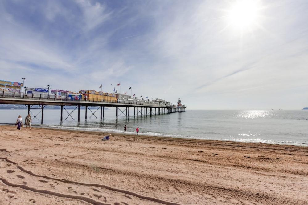 Paignton beach & pier