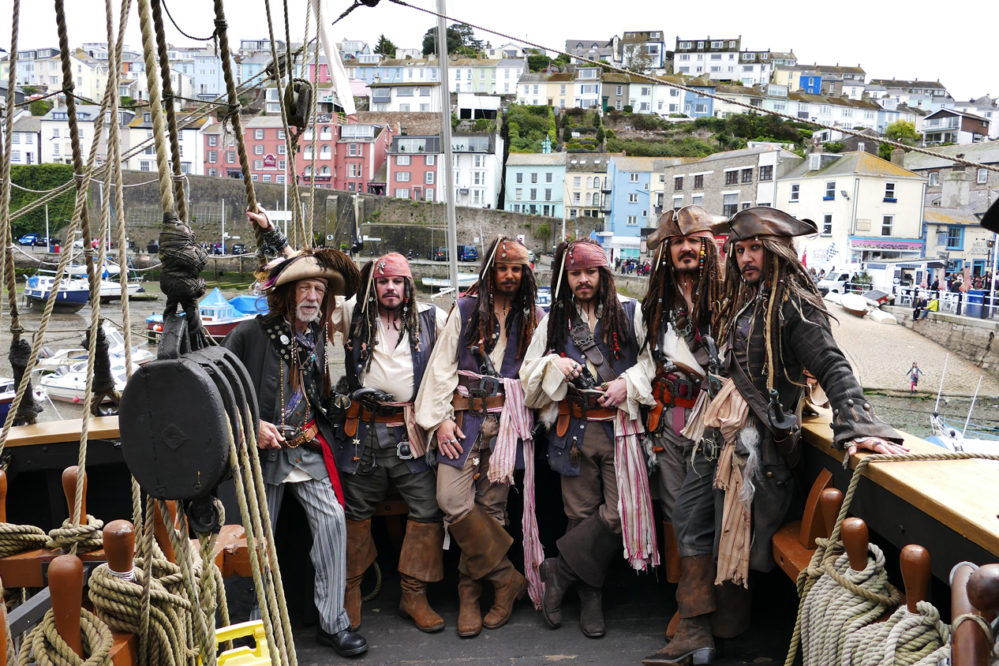 Brixham Pirates!