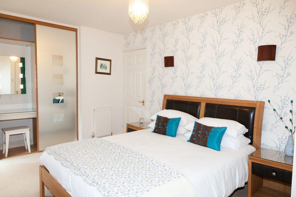 mallock Cottage bedroom