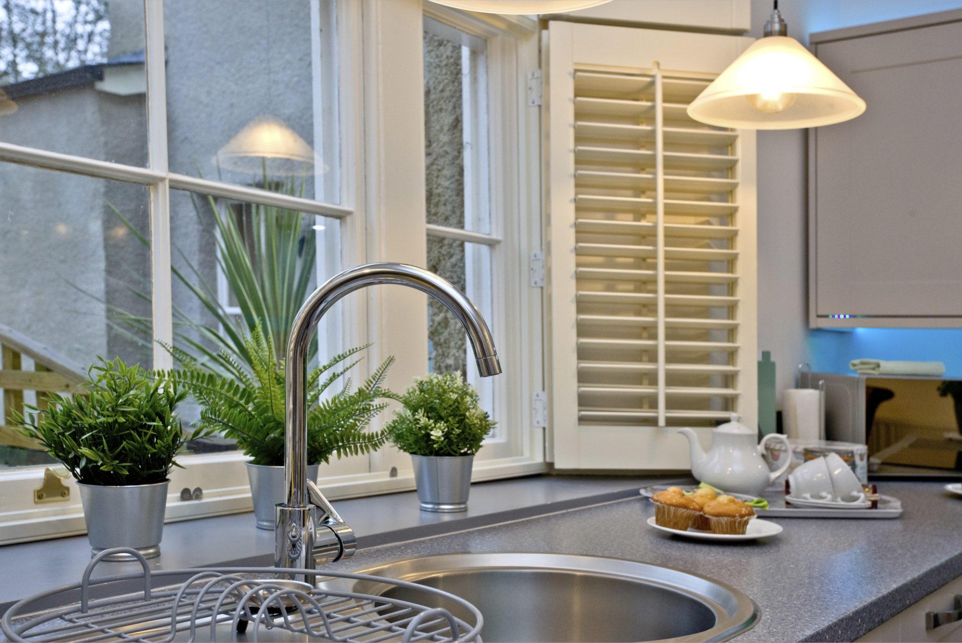 Wisteria cottage- Kitchen view 2