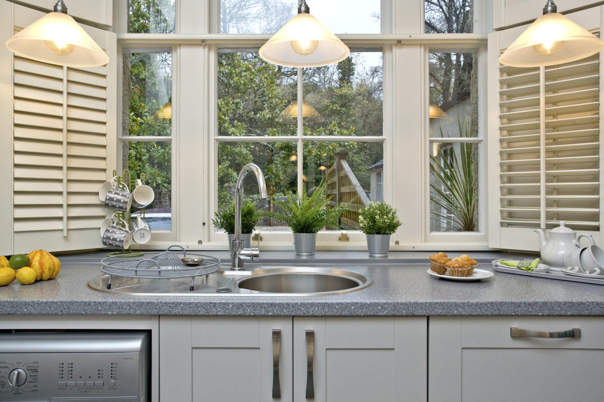 Wisteria cottage- Kitchen view