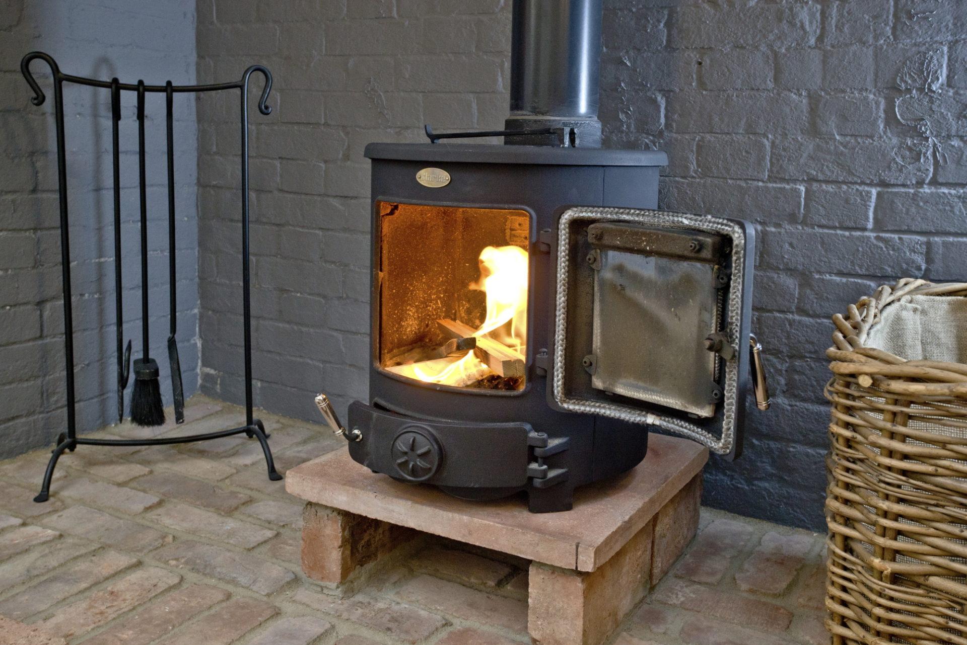 Wisteria cottage- fire