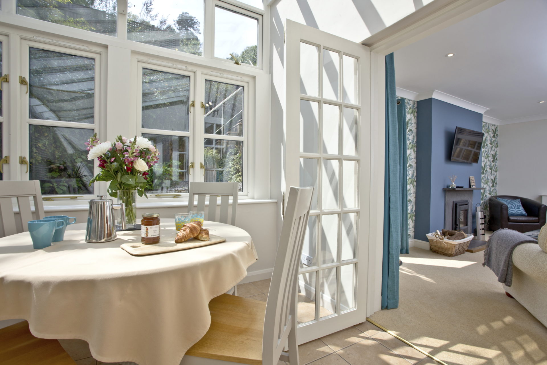 Mallock Cottage conservatory