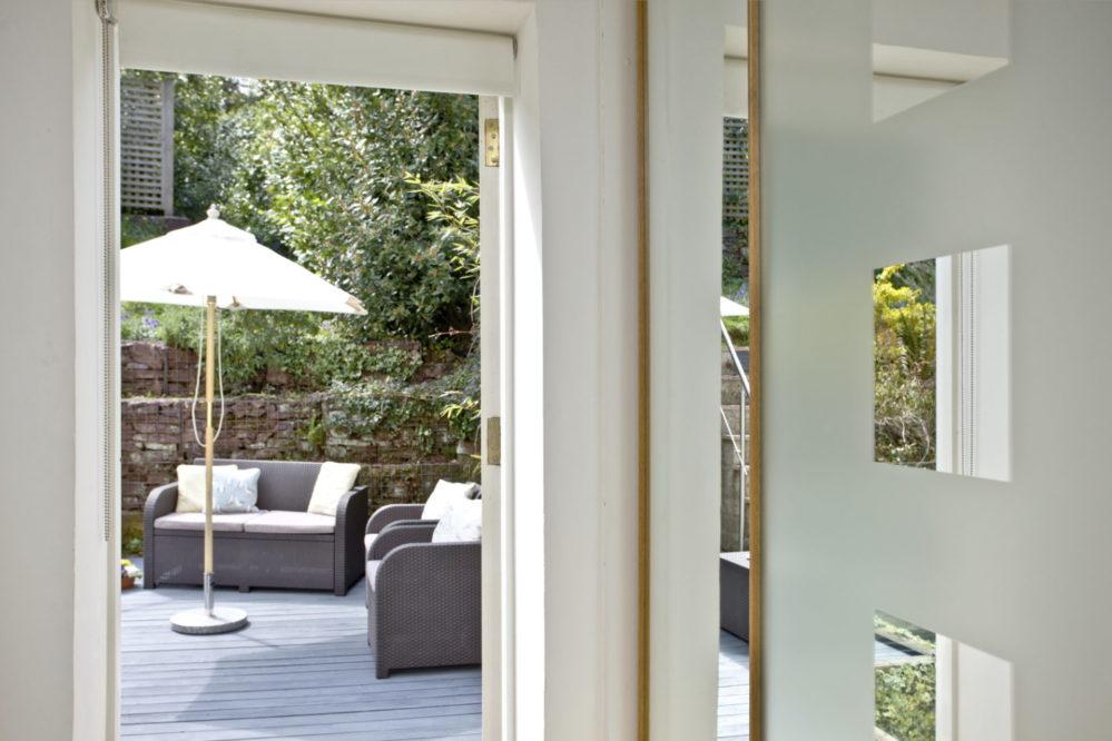 Mallock Cottage deck